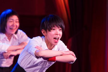【写真は「男子校にはいじめが少ない?」公演から。撮影=本多すなほ 禁無断転載】