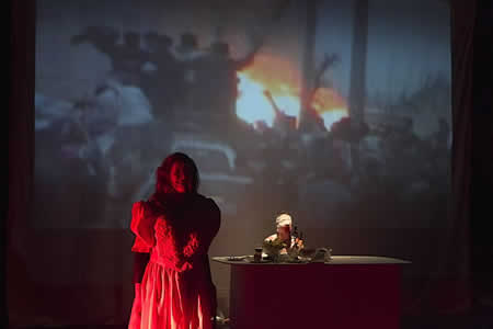 「Dream in Baghdad」公演2
