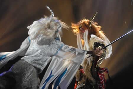 「金と銀の鬼」公演
