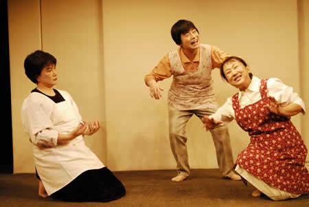 「お床と女」公演1