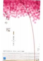 「五月の桜」公演チラシ