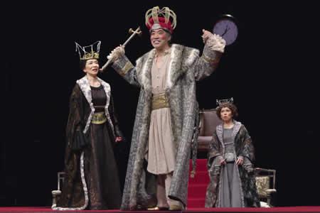 「瀕死の王」公演から
