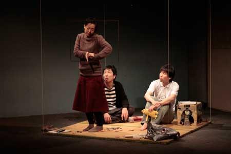「びんぼう君」公演の舞台写真2