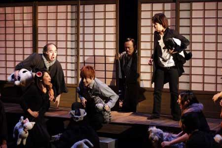 「夏目漱石とねこ」公演