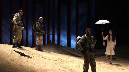 「砂と兵隊」写真