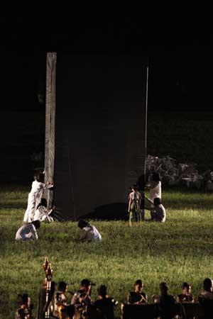 「じ め ん」公演の写真