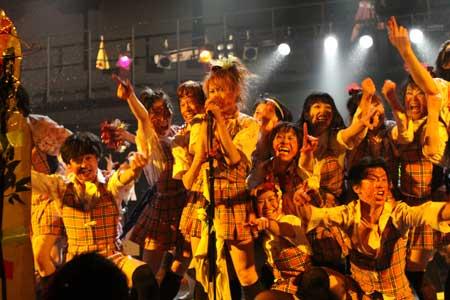 バナナ学園純情乙女組公演から