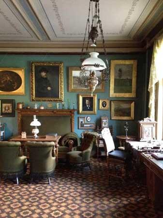 イプセンの書斎