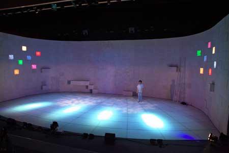 「朝がある」公演の写真2