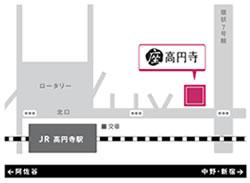 座・高円寺の地図