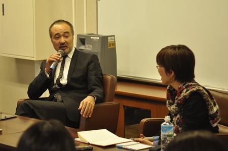 松尾スズキさんと徳永京子さん