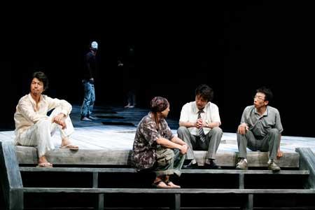 「現代能楽集VI『奇ッ怪 其ノ弐』」公演の舞台写真