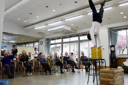 「旅する道化師と大道芸人たち」公演の写真2