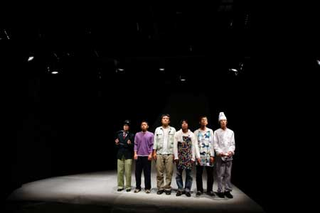 「雑音」公演の舞台写真2