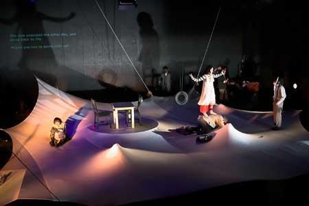 「女王の器」公演チラシ