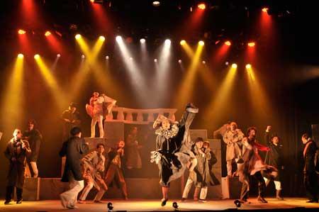 「十二夜」「夏の夜の夢」公演の舞台写真2