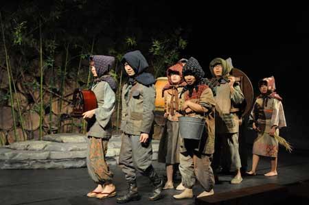 「お伽草紙/戯曲」公演の舞台写真2