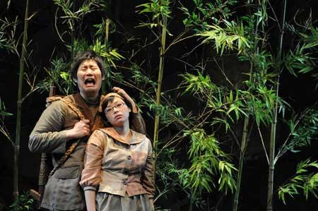 「お伽草紙/戯曲」公演の舞台写真4
