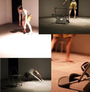 【ワークショップ参加者による、実際に3回目のダンスを撮影した写真。撮影者は左上から時計回りに1枚目と3枚目が阿部一貴さん、2枚目と4枚目が山崎貴大さん。禁無断転載】