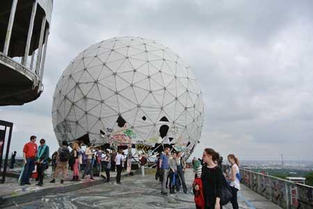 トイフェルスベルクの屋上