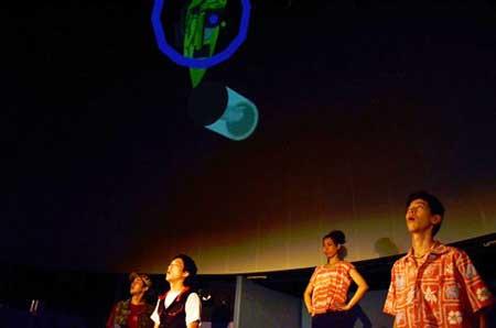「.」←dot  公演の舞台写真2