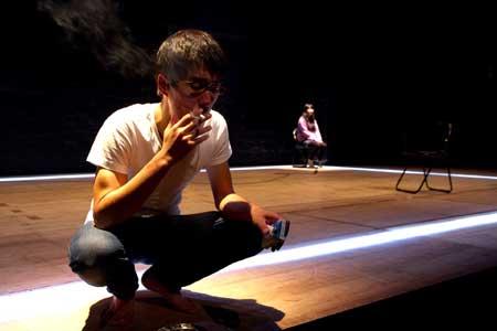 「ツァイトゲーバー」公演の舞台写真3