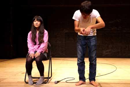 「ツァイトゲーバー」公演の舞台写真2